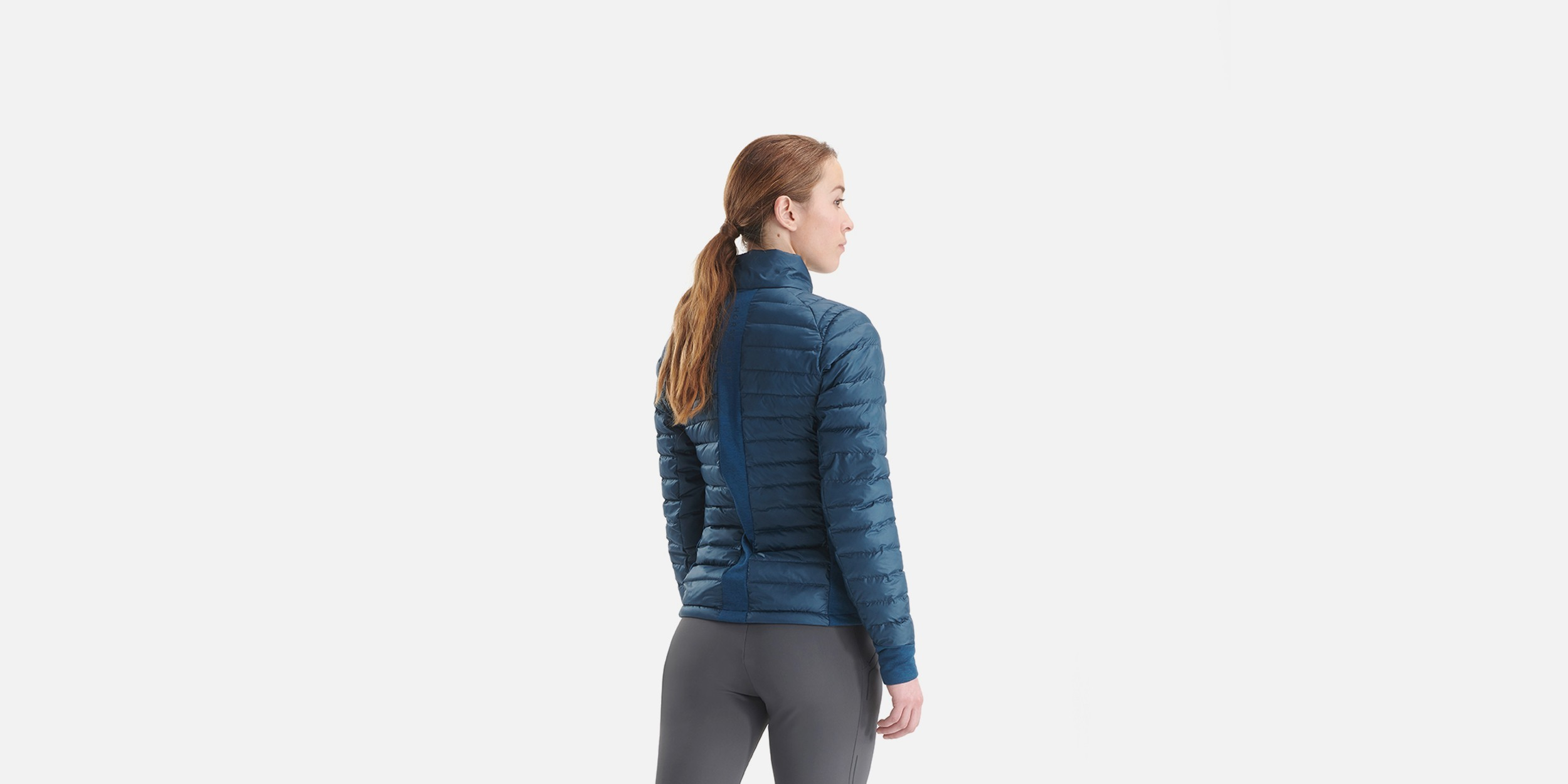 light down jacket for women riding