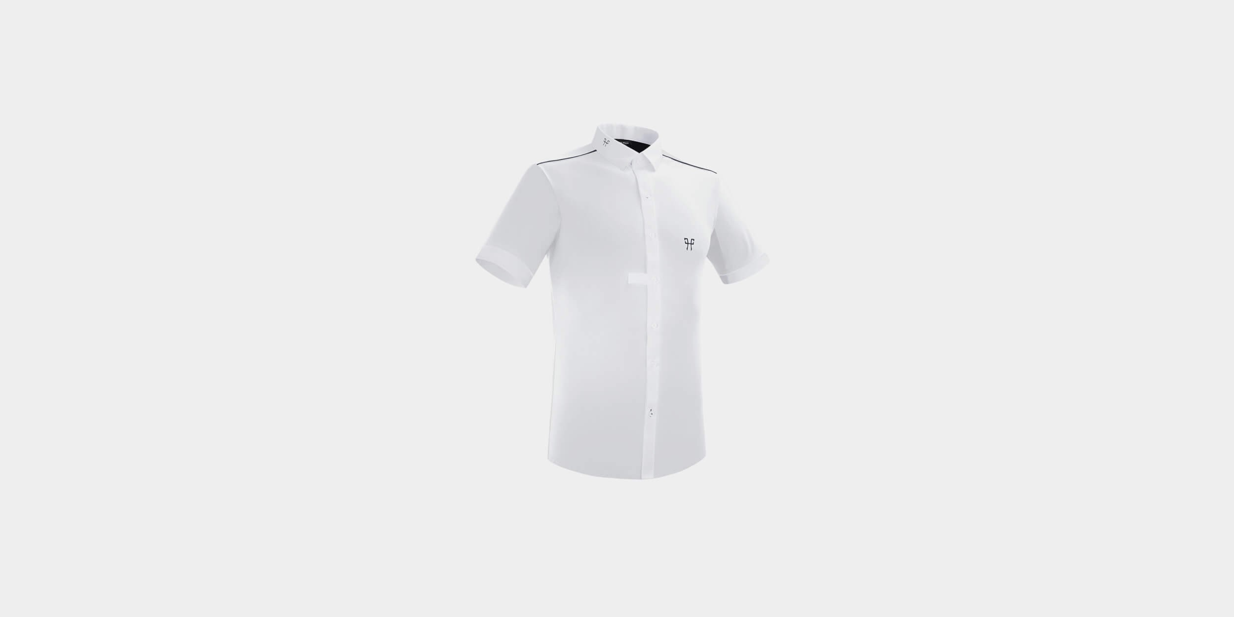 Sleeveless riding show shirt for men
