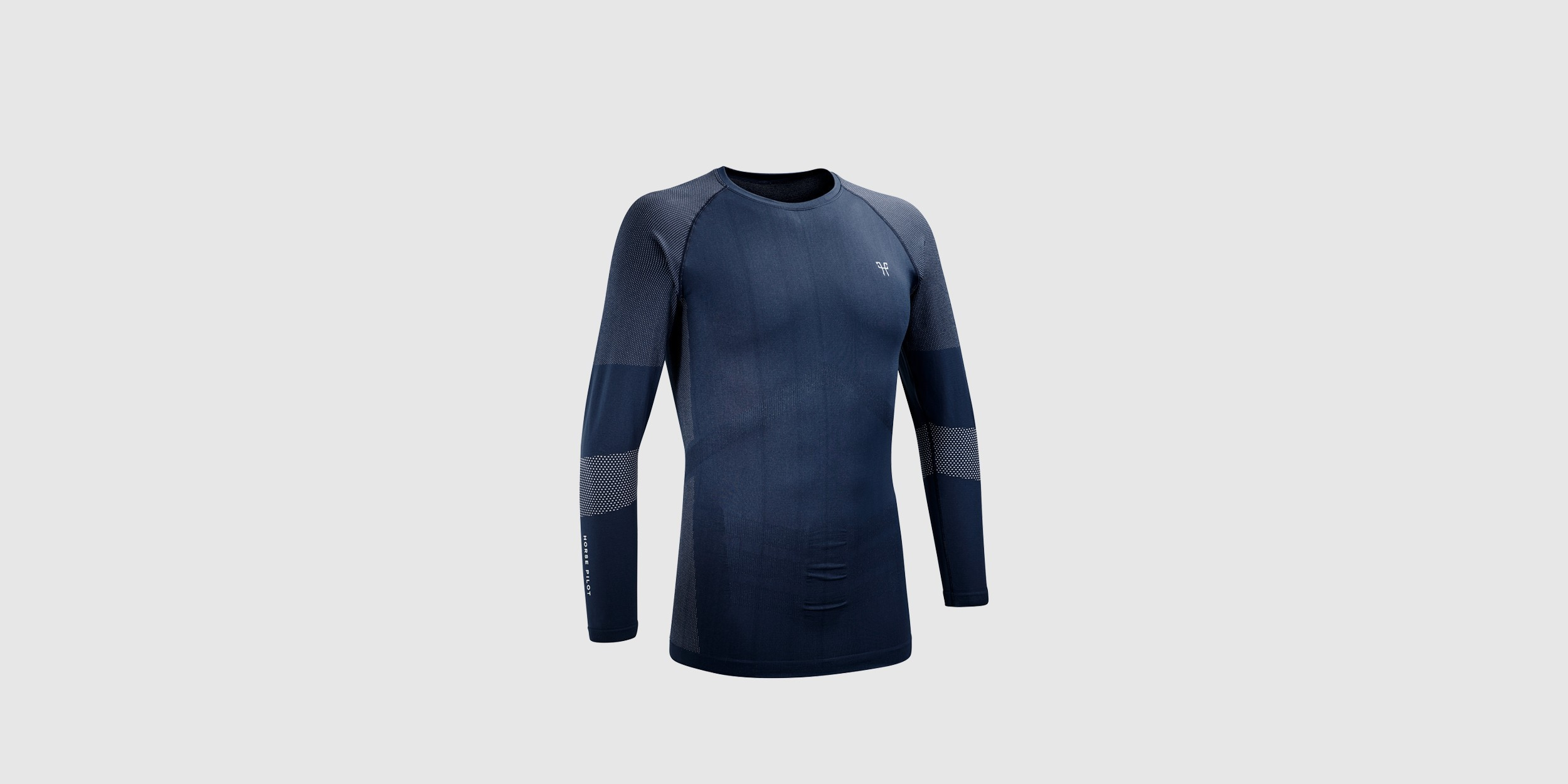Men's technical long-sleeved T-shirt