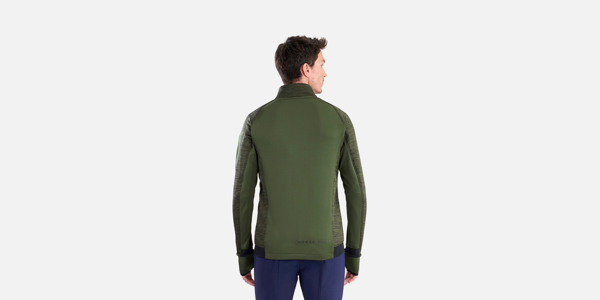 Riding sweatshirt for man