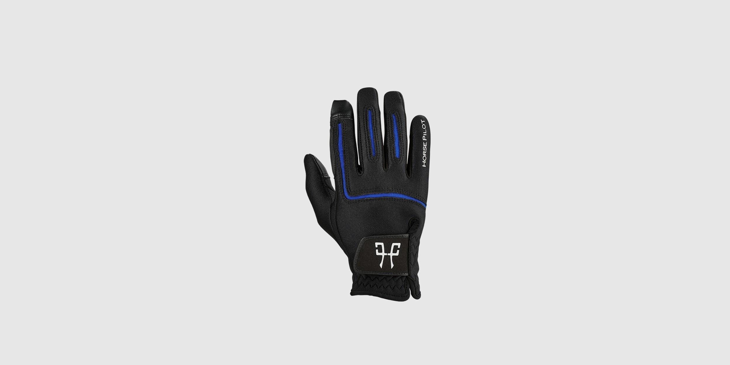 Winter gloves for horse riders