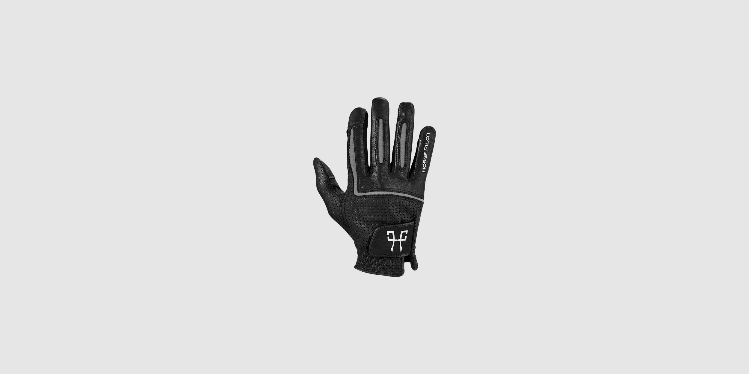 Leather gloves for riders