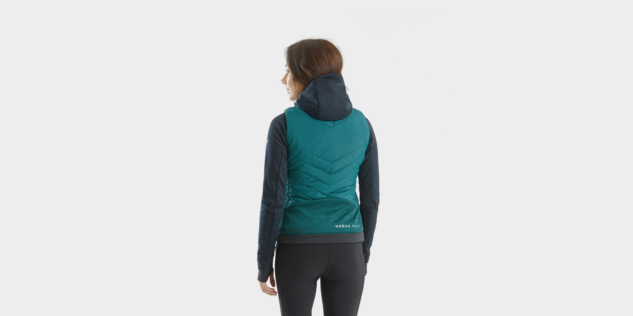 RIDER VEST Sleeveless down jacket for woman