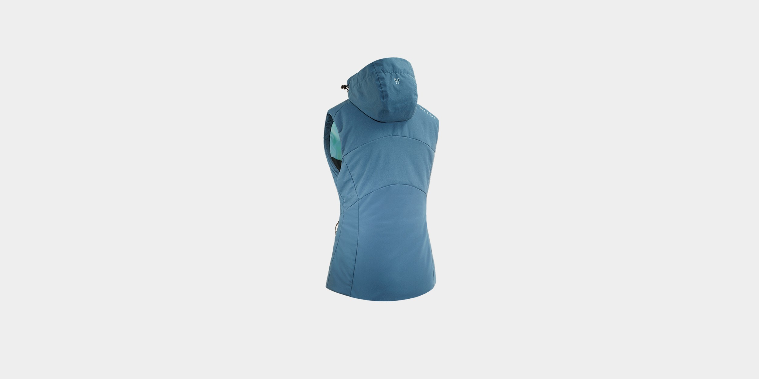CELSIUS - sleeveless hooded jacket for woman