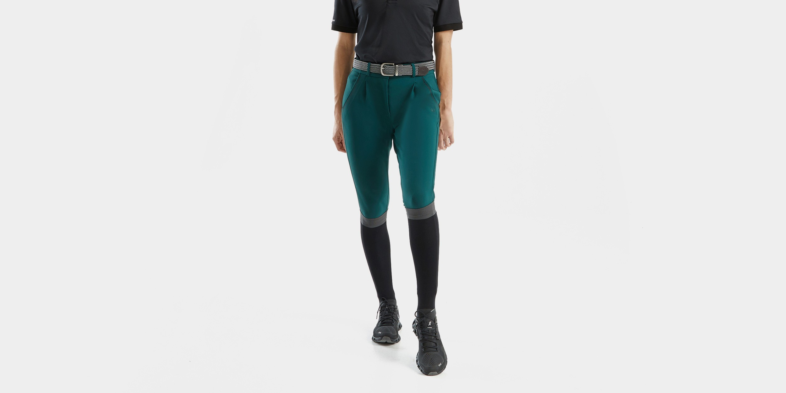 X-TAILOR - Women's riding pleated trousers
